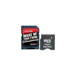 SanDisk miniSD/SDHC Adapter Pack - microSD