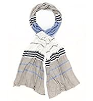 Autograph Lightweight Striped Scarf