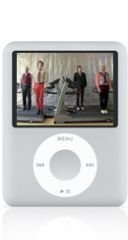 Apple iPod nano 4 GB 3rd Generation (Silver)  (Discontinued by Manufacturer)