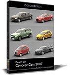 Dosch 3D: Concept Cars 2007 front-189594