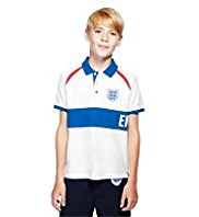 England FA Pure Cotton 3 Lions Polo Shirt