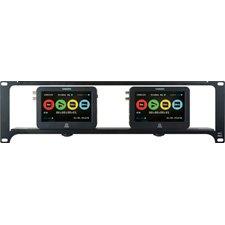 3RU Dual or Single Unit Rackmount Kit for Atomos Ninja 2 & Samurai-by-Delvcam Monitor Systems