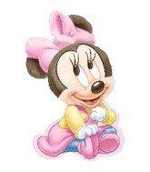 "33"" Minnie Mouse 1st Birthday Girl - 1"