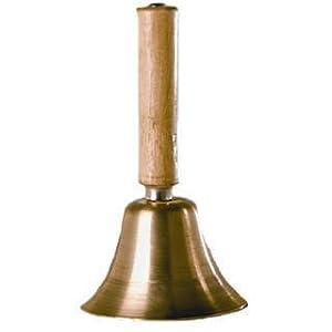 Glocke mit Holzgriff, , ca.12 cm