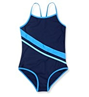 Panelled Speedy Swimsuit
