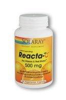 Solaray Reacta C With Bioflav Vitamin Capsules, 500 Mg, 180 Count