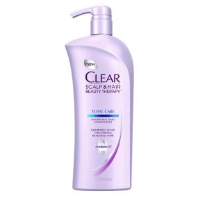 Clear Scalp & Hair Beauty Therapy Total Care Nourishing Conditioner, 21.9 Fluid Ounces