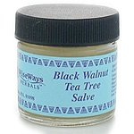 Wiseways Herbals Black Walnut-Tea Tree Salve 1 Oz.
