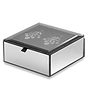 M&S Collection Glitter Earrings Jewellery Box