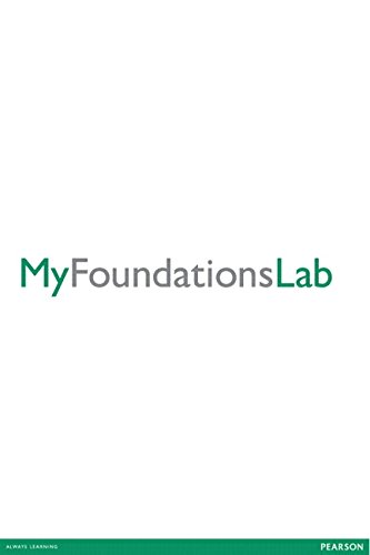 MyFoundationsLab without Pearson eText for Student Success -- Standalone Access Card -- 10 week