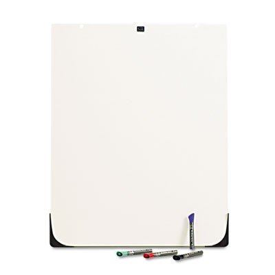 Double-Sided Dry-erase Whiteboard, f/ Easel, 27 quot;x34 quot;, White