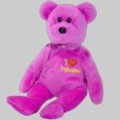 TY Beanie Baby - PHILADELPHIA the Bear (I Love Philadelphia - Show Exclusive) - 1