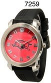 NCAA Officially Licensed Arkansas Razorbacks Mens Large Face Watch by Time World
