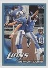 [Missing] #85/349 Detroit Lions (Football Card) 2010 Topps Blue #117