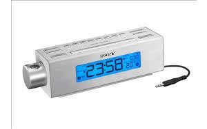 Sony - Sony Projection AM/FM Clock Radio - SY-ICF-C717PJ