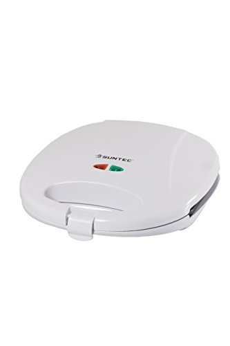 HOME Essentials - Sandwichtoaster STO-9622 [Für bis zu 2 Sandwiches gleichzeitig, Antihaftbeschichtung, max. 900 Watt]