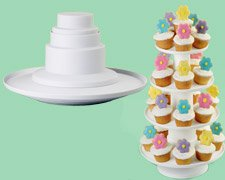WILTON 4 TIER STACKED DESSERT TOWER 307-856