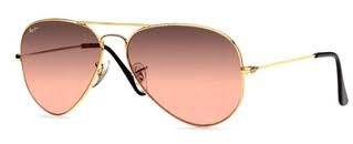 ray ban by luxottica mffg  ray ban sunglasses rb3025 aviator l gold 001 3e