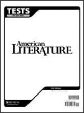 American Literature for Christian Schools Tests