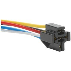 Parts Express 12 VDC 5-Pin Relay Socket