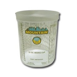Mountain Disposable Quart Mixing Cup (100/Cs) from Mountain