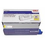 Oki Data 43324420 Black Toner Cartridge 6K for C6100 Series Printers