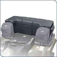 New Genuine Polaris ATV Accessories Lock and Ride Rear Cargo