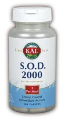 KAL - S.O.D. 2000, 2000 mf, 100 tablets (D S ++@+ 1 compare prices)