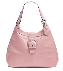 Coach   Authentic Coach Soho Leather Large Lynn Hobo Handbag 17092 Blush Pinkk