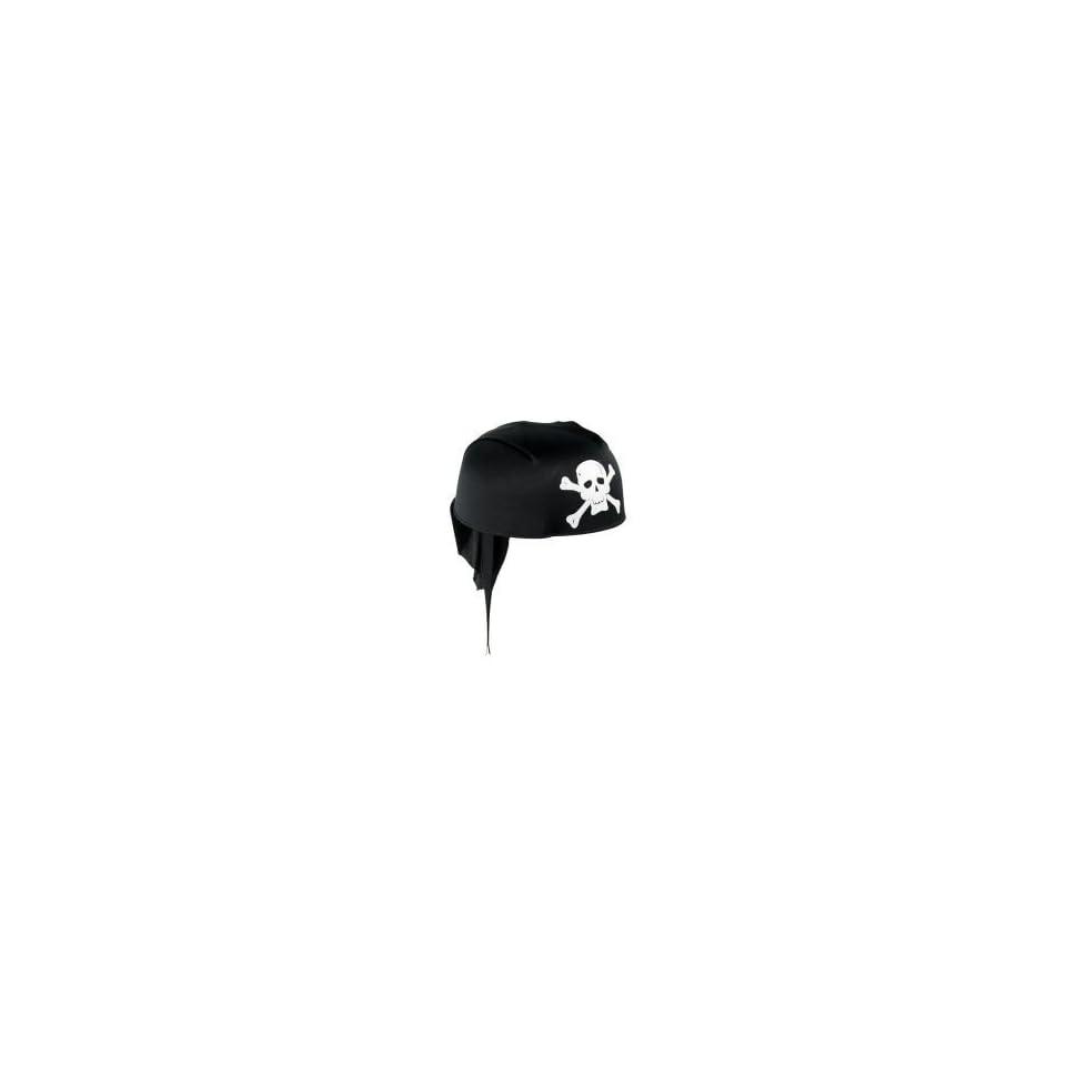 Pirate / Buccaneer Scarf Hat with Skull / Bones Pattern Halloween Costumes Party Cap