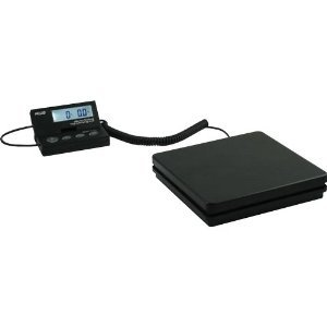 American Weigh Scales SE-50 Ship Elite Black Low Profile Shipping Scale with Backlit LCD and 110-Pound Capacity Reviews