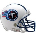 Tennessee Titans unsigned riddell mini helmet Memorabilia Lane & Promotions Amazon.com