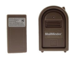 Mailbox Delivery Alert Mail box minder Chime LED Wireless Notification System