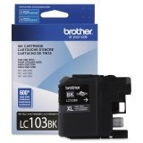 Brother Printer LC103BK High Yield Cartridge