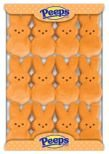 Marshmallow Peeps Orange Easter Bunnies 12ct.