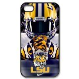 Purple Protective NCAA Lsu Tigers Apple Iphone 6 Case Cover University Football Nike just do it logo Helmet