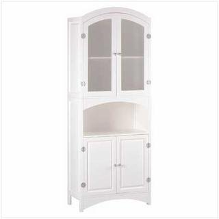 Wood Linen Cabinet (Linen Cabinet Corner compare prices)