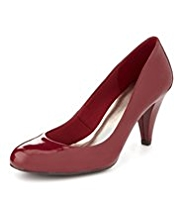 M&S Collection Stiletto Mid Heel Court Shoes with Insolia®