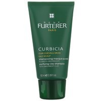 Rene Furterer Curbicia Purifying Shampoo-Mask with Absorbent Clay For Oily Scalp 100ml