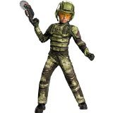 Disguise Operation Rapid Strike Red Sector Foot Soldier Classic Muscle Boys Costume