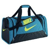 NIKE Men's sports bag Brasilia 6 Small, Teal, L24