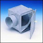 Lint trap 4″ Duct