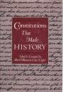 img - for Constitutions That Made History book / textbook / text book