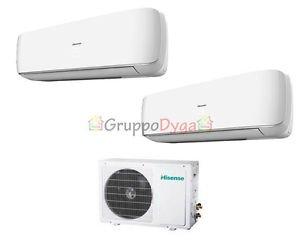 Climatizzatore dual hisense inverter mini apple pie 12000 for Climatizzatori amazon