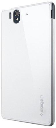国内正規品SPIGEN SGP Sony Xperia Z SO-02E ウルトラ・カプセル [インフィニティ・ホワイト]SGP10189
