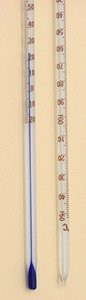 SEOH Thermometer Blue Spirit Total Immersion -20 to 150C Single Scale