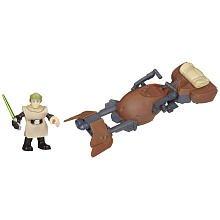 Star Wars Jedi Force Speeder With Luke