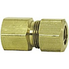Imperial 90093 Compression Tube Female Connector, 1/4 X 1/4 Per Package Of 5 imperial 90484 copper male run tee air brake fitting 3 8x1 4 pack of 5