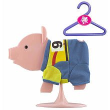 Teacup Piggies Fashion Set Pedal Power Yellow Jersey #99 - 1