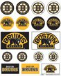Boston Bruins Official Nhl 5 Inch X 7 Inch Sticker Sheet front-862545